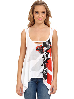 SALE! $13.99 - Save $19 on Fox Flash Tank Top (White) Apparel - 56.95% OFF $32.50