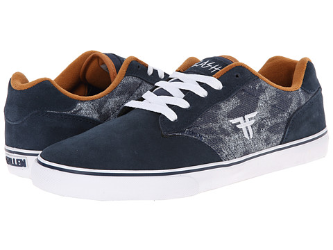 Fallen - Slash (Midnight Blue/Acid Navy) Men's Skate Shoes