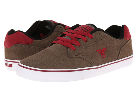 Fallen - Slash (Afghan Brown/Oxblood) Men's Skate Shoes
