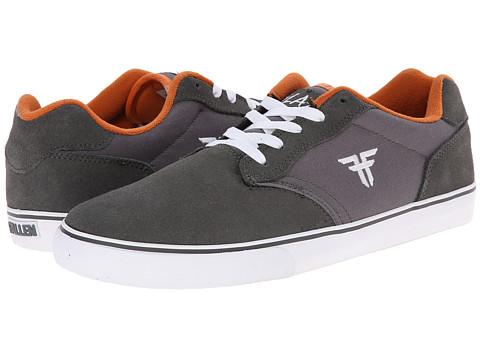 Fallen - Slash (Cement Grey/Acid Orange) Men's Skate Shoes