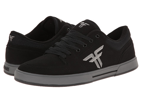 Fallen - Patriot III (Black/Cement Grey) Men's Skate Shoes