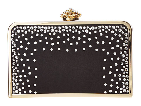 Franchi Handbags - Lilith Box Clutch (Black) Cross Body Handbags