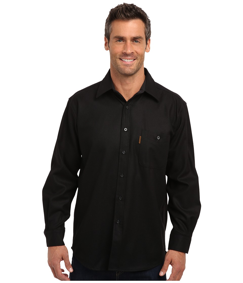 Pendleton - Trail Shirt (Black) Men's Long Sleeve Button Up