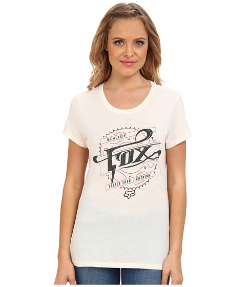 Fox - Thundering Tee (Bone) Women's T Shirt
