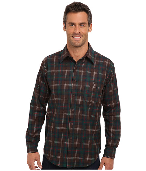 Pendleton - L/S Fitted Trail Shirt (Chisholm Hunting Tartan) Men's Long Sleeve Button Up