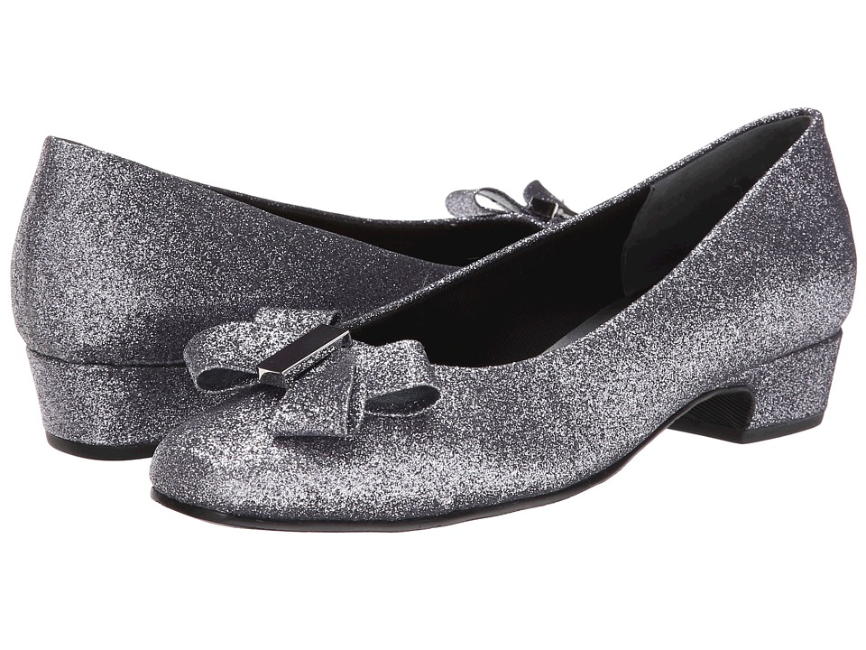 Rose Petals Briann (Pewter Sparkle Fabric) Women