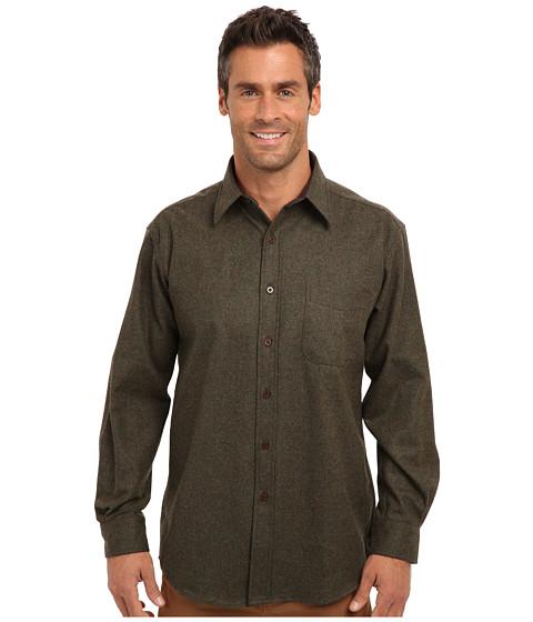 Pendleton - L/S Lodge Shirt (Pete Moss Solid) Men