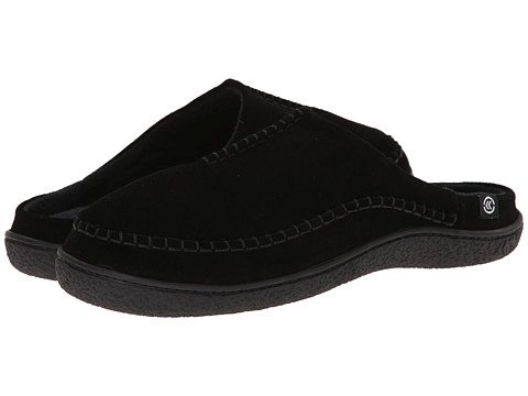 ISOTONER Signature - Suede Clog (Black) Men