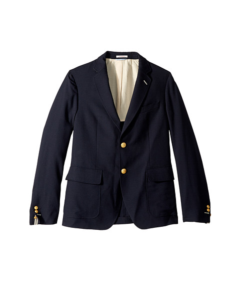 Gant Rugger - R. The Hopsack Blazer (Navy) Men's Jacket