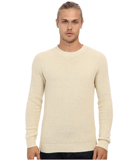 Gant Rugger - R. Pineapple Knit Sweater (Ivory) Men