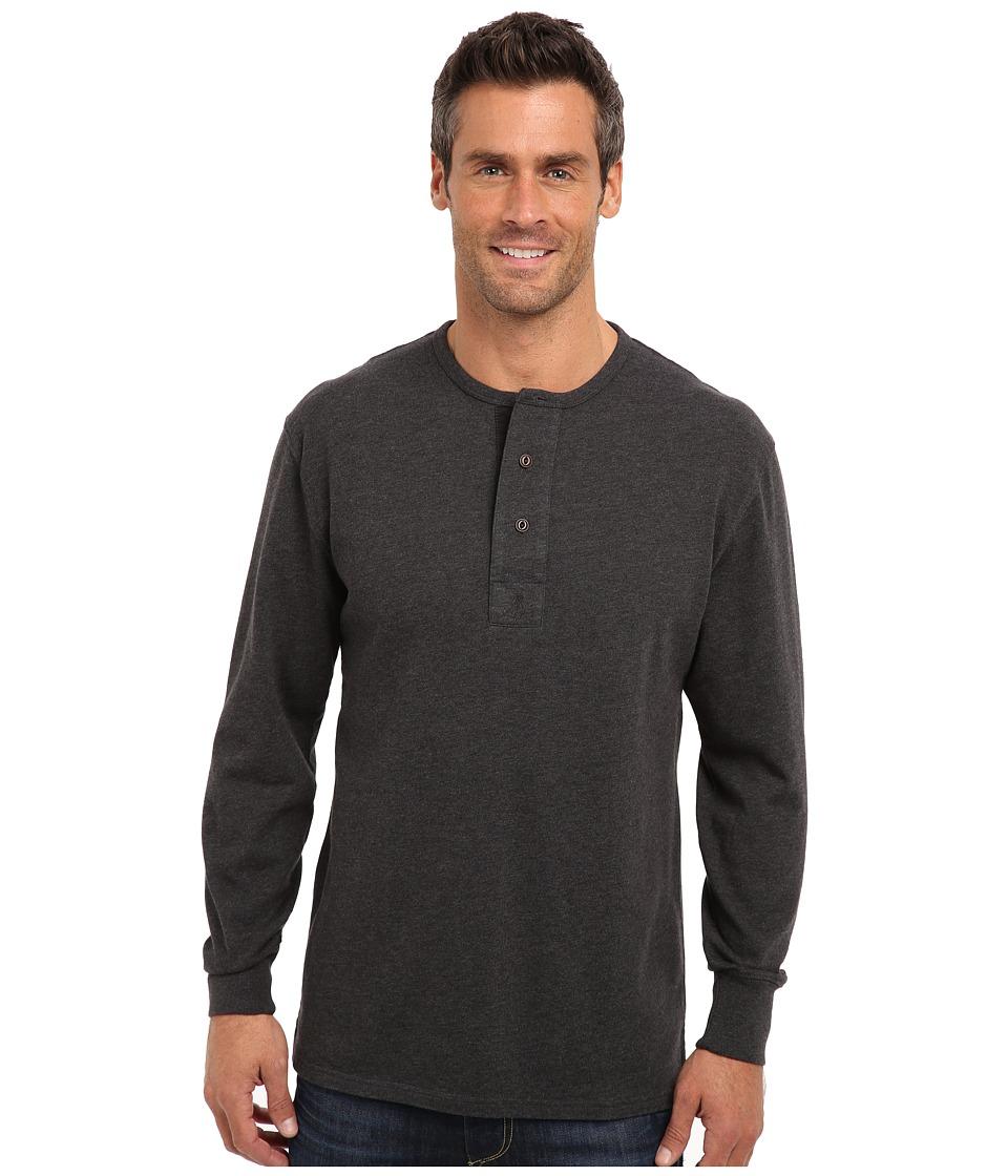 Pendleton - L/S Henley (Dark Grey Mix) Men's T Shirt