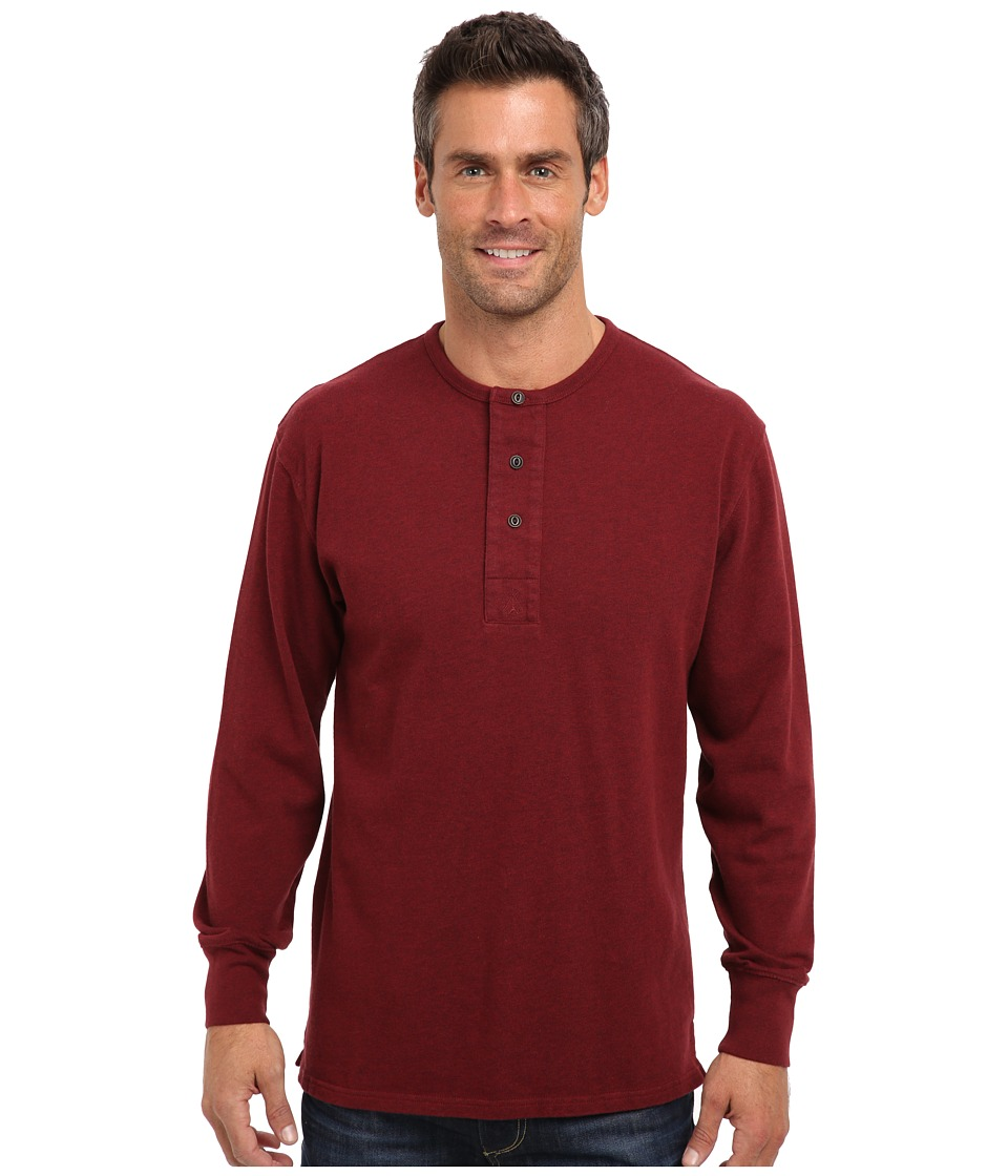 Pendleton - L/S Henley (Wine Mix) Men's T Shirt