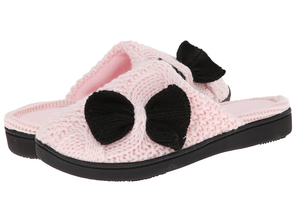 ISOTONER Signature - Miranda Clog with Bow (Peony) Women's Slippers