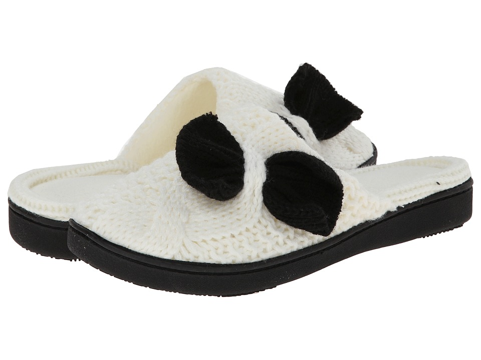 ISOTONER Signature - Miranda Clog with Bow (Ewe) Women's Slippers