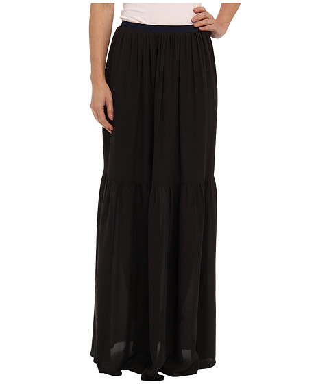 Rebecca Taylor - Maxi Skirt (Charcoal) Women's Skirt