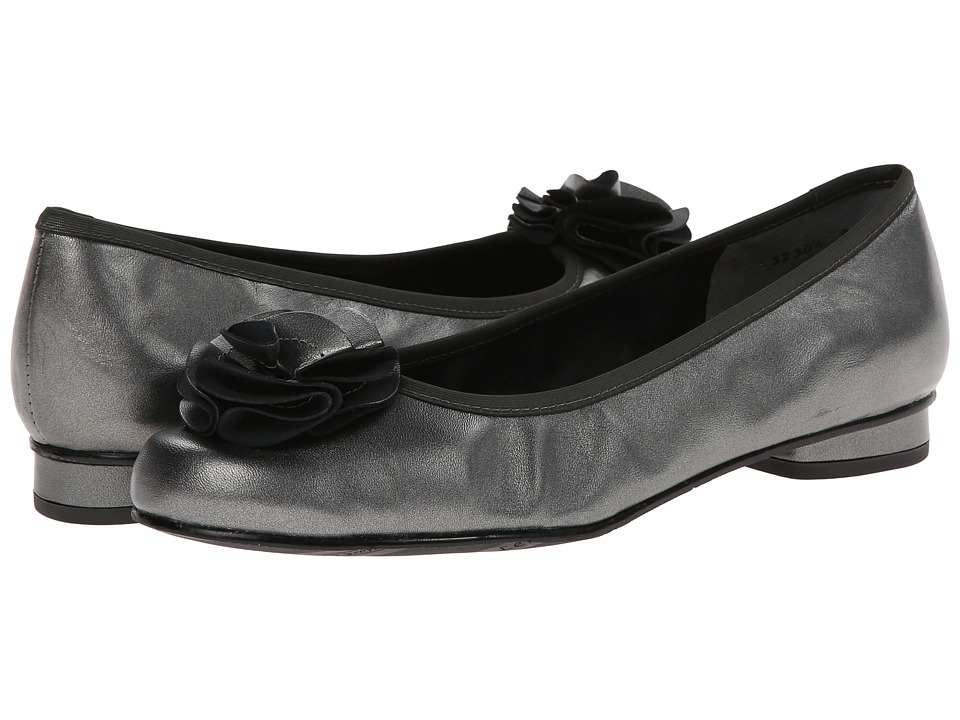 Rose Petals - Melissa (Pewter Nappa) Women's Shoes