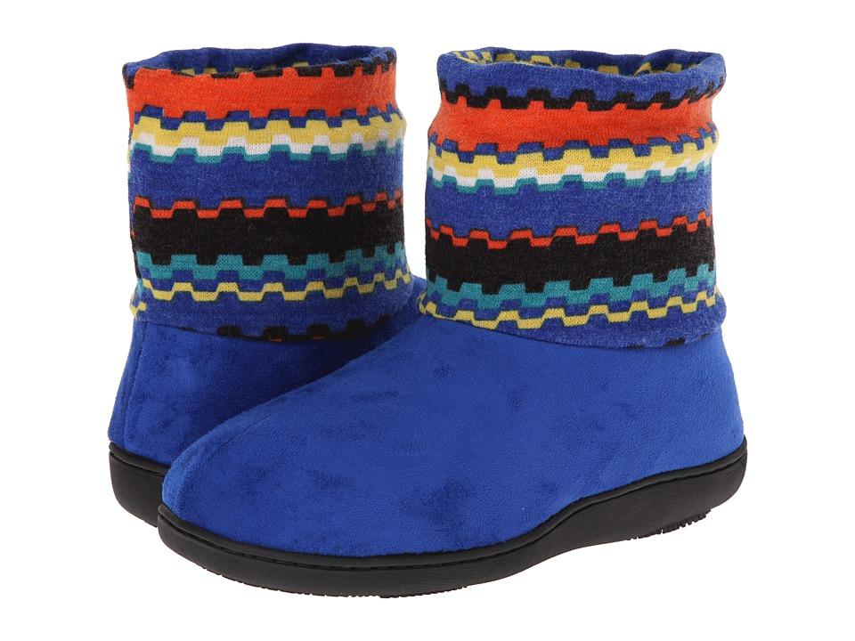 ISOTONER Signature - Anita Boot (Sapphire) Women's Slippers