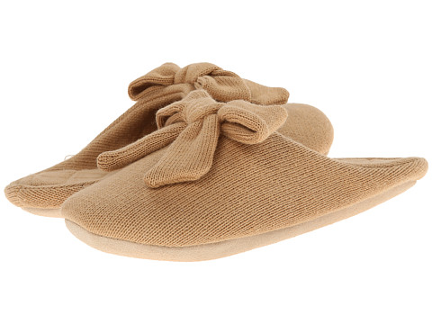 ISOTONER Signature - Cashmere Aria (Smoky Taupe) Women's Slippers