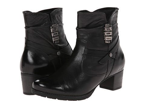 Mephisto - Delora (Black Calfskin) Women's Boots