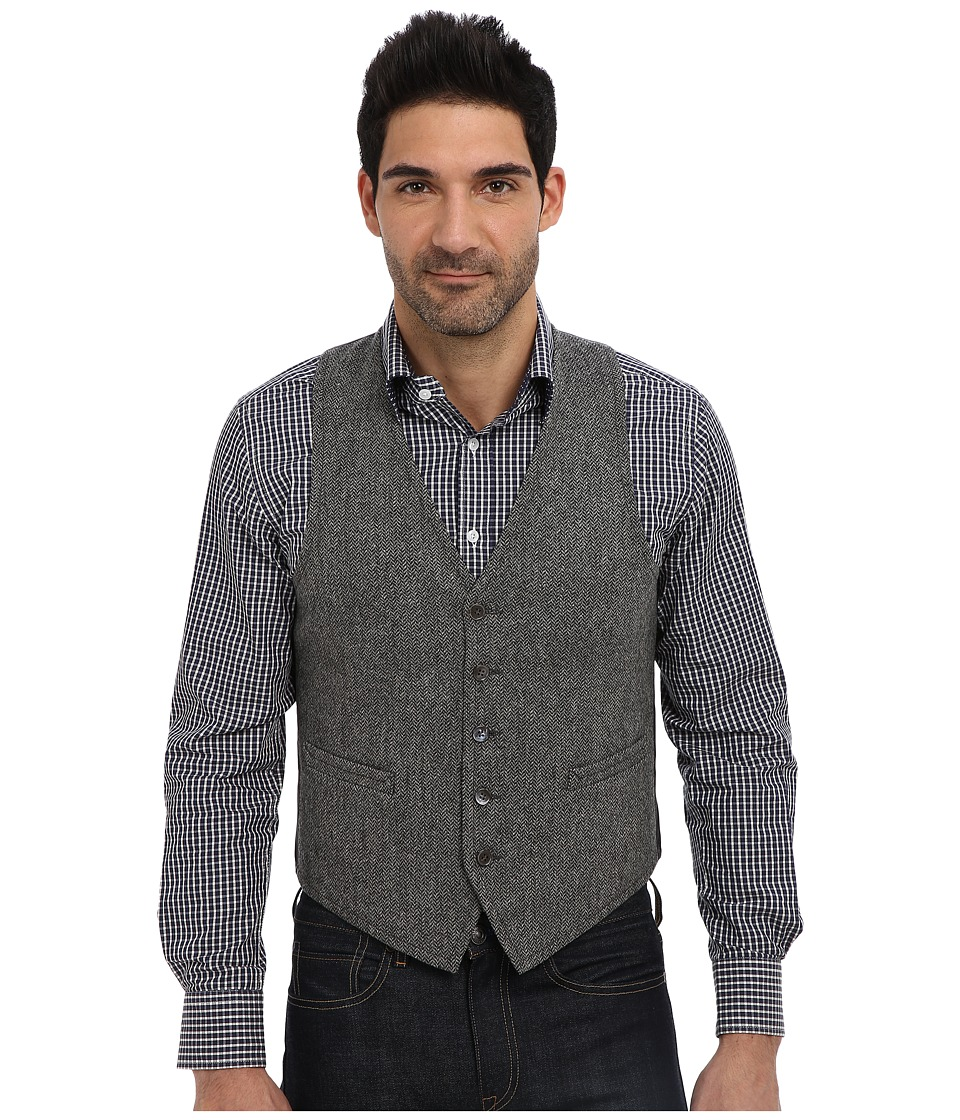 Gant Rugger - R. Sleeveless In Seattle Vest (Graphite Melange) Men's Jacket