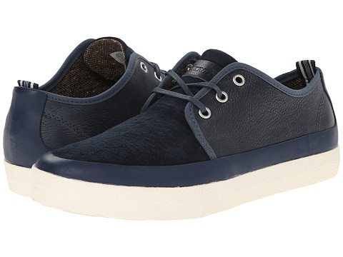 PF Flyers - Perkins (Petrol Leather/Suede) Men's Lace up casual Shoes