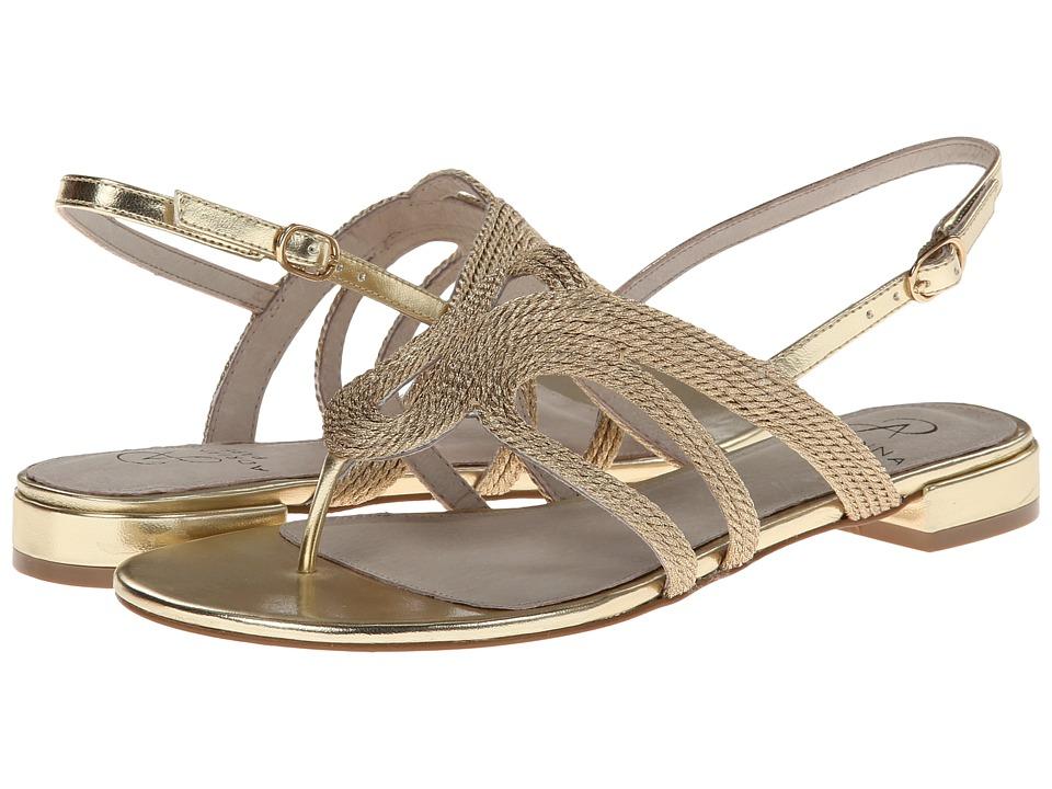 Adrianna Papell - Minerva (Platino Metallic Rop) Women's Sandals