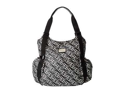 Kenneth Cole Reaction - Kcr 4Poster Diaper Bag (Black/Bone/Black) Diaper Bags