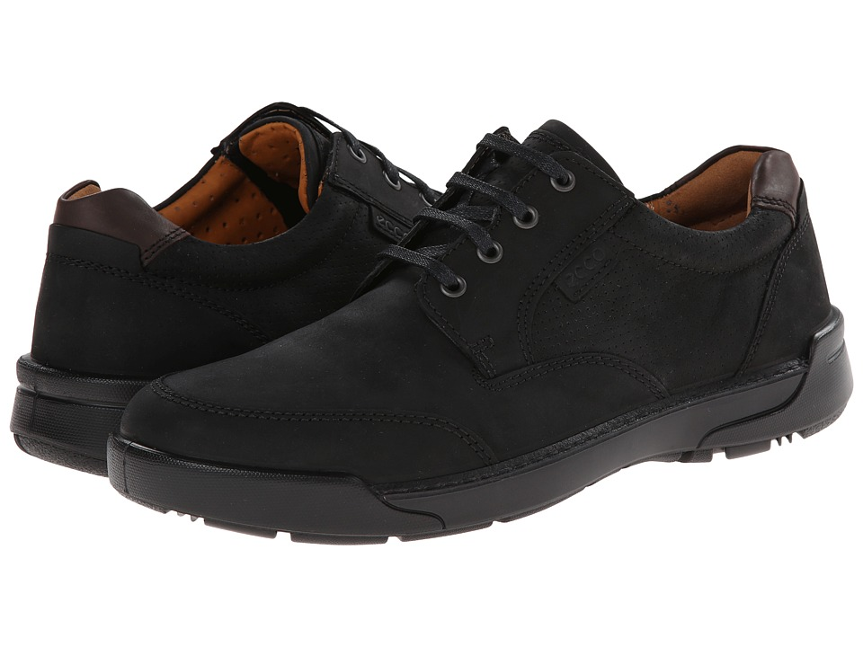 ECCO - Dason Casual Tie (Black) Men's Lace up casual Shoes