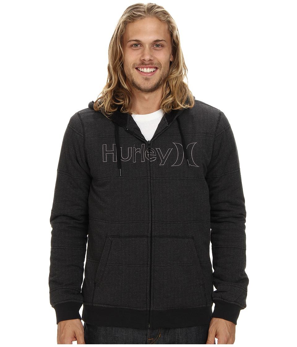 Hurley - One Only Herringbone Fleece (Black) Men's Sweatshirt