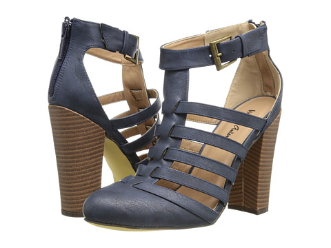 Michael Antonio - Jason (Navy Heavy Grain Pu) High Heels