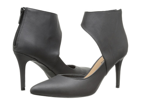 Michael Antonio - Janine (Black Heavy PU/Brush PU) High Heels