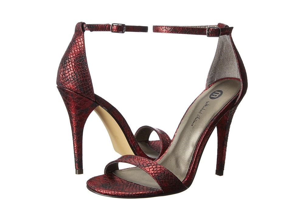 Michael Antonio - Jayvix-Rep (Red Met Snake PU) Women's Dress Sandals