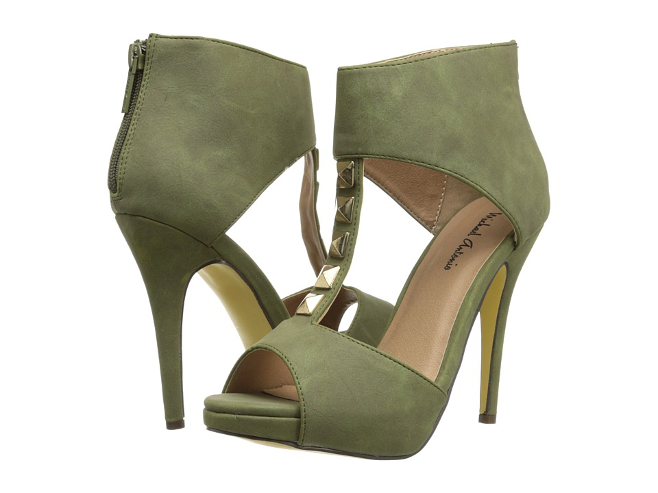 Michael Antonio - Kaye (Olive Heavy PU/Brush PU) High Heels