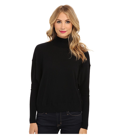 Autumn Cashmere - Boxy Turtleneck (Black) Women