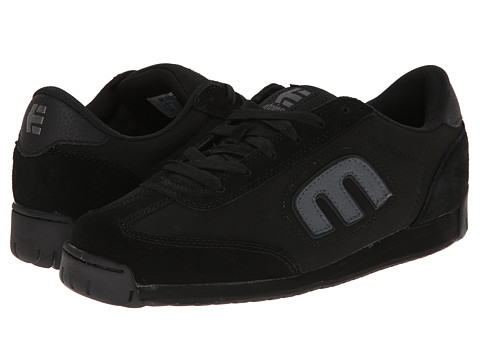 etnies - Lo-Cut II LS (Black Dirty Wash) Men's Skate Shoes