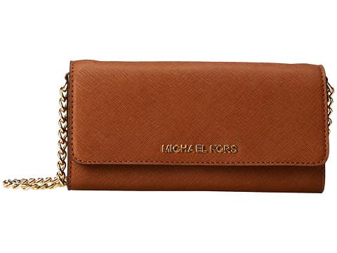 MICHAEL Michael Kors Jet Set Travel Wallet on a Chain (Luggage) Cross Body Handbags