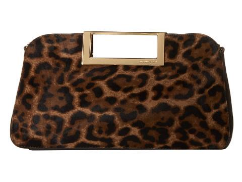 MICHAEL Michael Kors Berkley Large Clutch (Leopard) Clutch Handbags