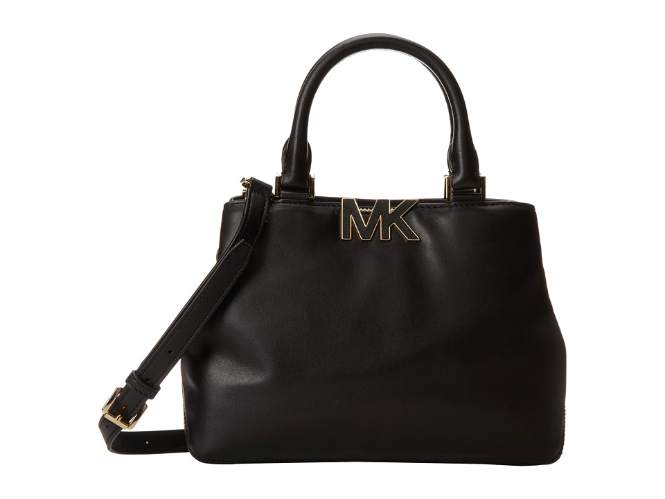 MICHAEL Michael Kors - Florence Small Satchel (Black) Satchel Handbags