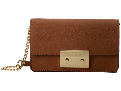 MICHAEL Michael Kors Sloan Chain Crossbody (Luggage) Cross Body Handbags
