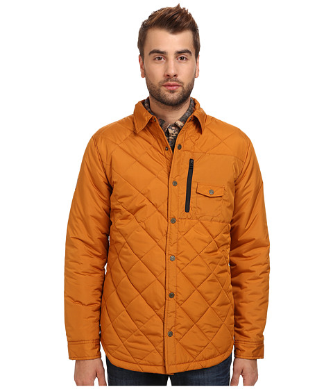 Quiksilver - Mileage Insulator (Sudan Brown) Men's Coat