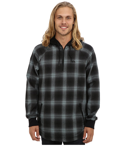Quiksilver - Layover Riding Shirt (Caviar) Men