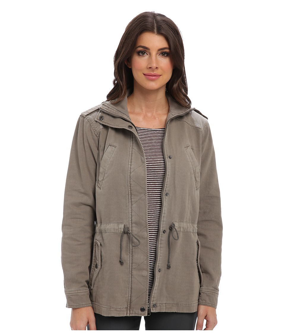 Michael Stars - Double Twill Military Jacket (Stone) Women's Jacket
