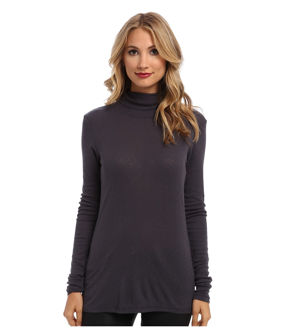 Michael Stars - Slub Long-Sleeve Turtleneck (Oxide) Women's Long Sleeve Pullover
