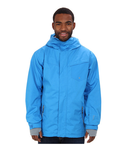 Quiksilver - Mission 3N1 10K Jacket (Brillant Blue) Men's Coat