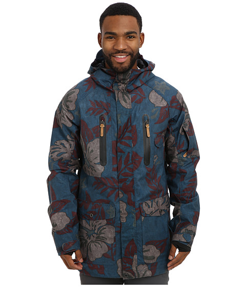 Quiksilver - Dreaming Jacket (Moroccan Blue) Men's Coat