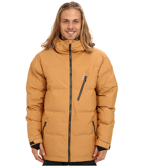 Quiksilver - Travis Rice Polar Pillow Jacket (Sudan Brown) Men's Coat