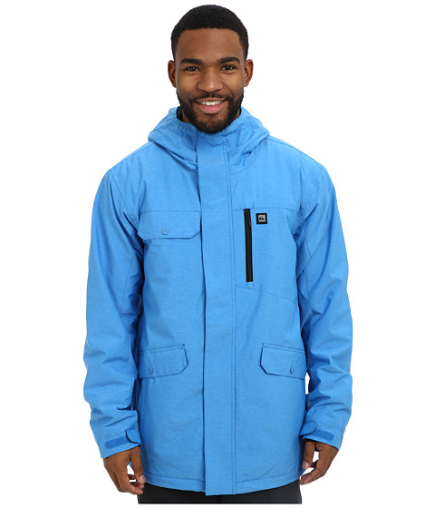 Quiksilver - Craft Jacket (Brillant Blue) Men's Coat