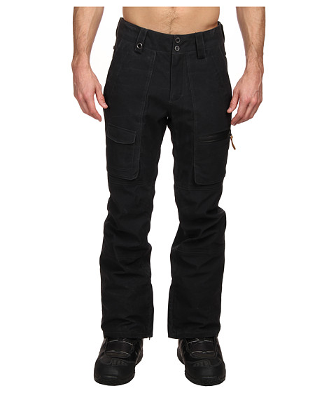 Quiksilver - Dark Stormy Pant (Caviar) Men's Outerwear