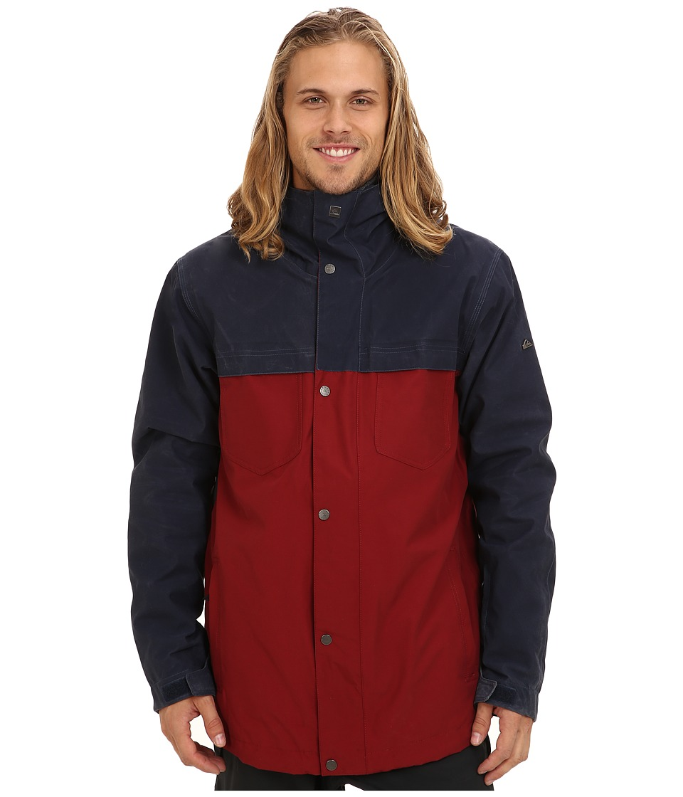 Quiksilver - Act System Jacket (Navy Blazer) Men's Coat
