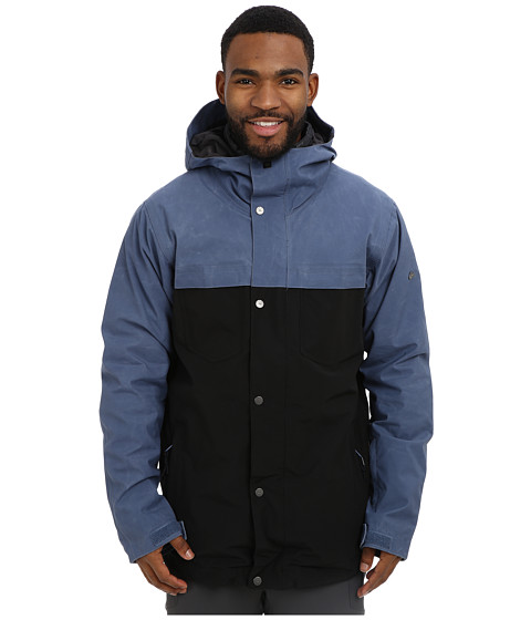 Quiksilver - Act System Jacket (Vintage Indigo) Men's Coat